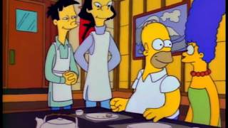 The Simpsons Poison Blowfish Sushi