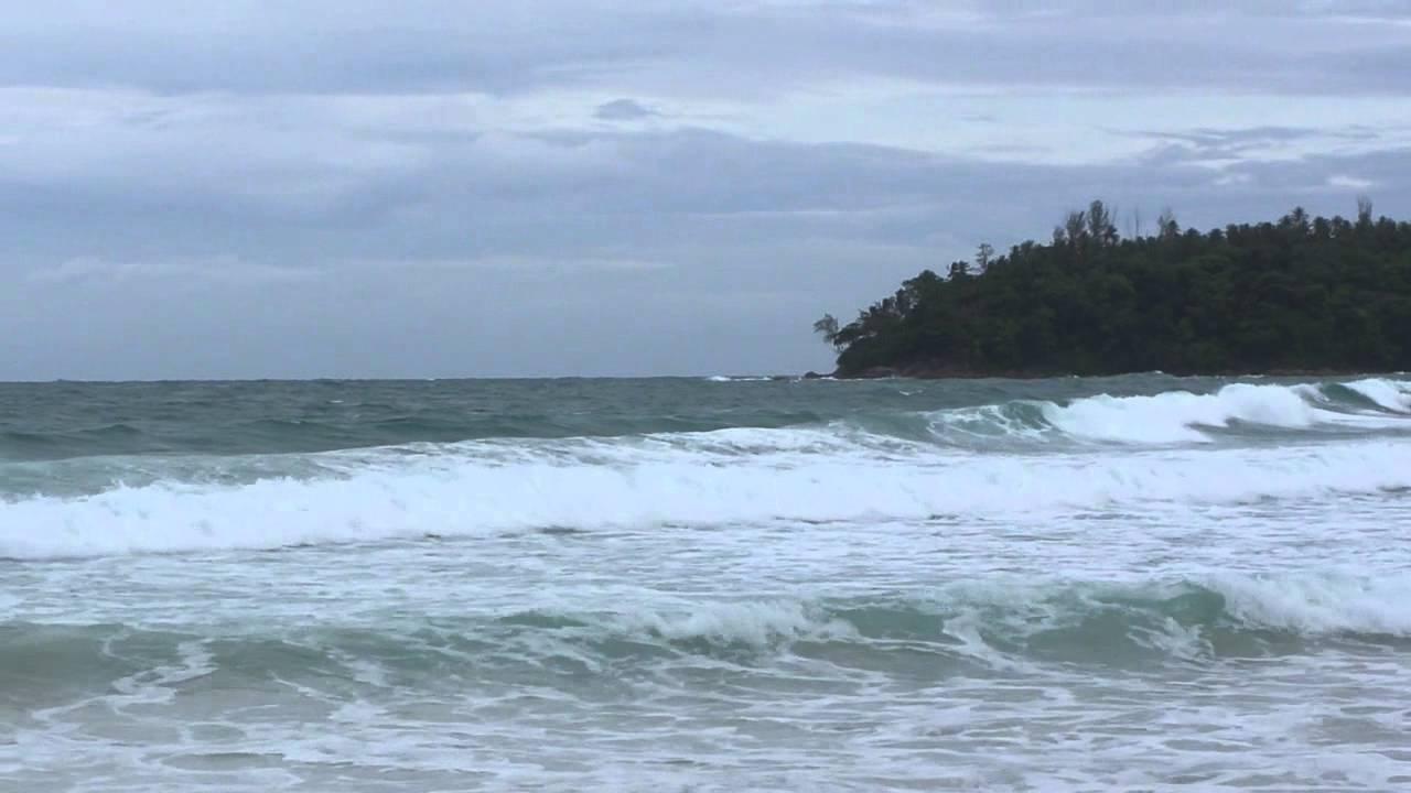Kata Beach Phuket Thailand Surf - YouTube