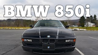 1991 BMW 850i V12 Regular Car Reviews