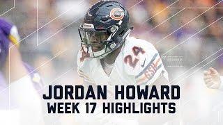 Jordan Howard Blasts Off for 135 Rushing Yards!   Week 17 Player Highlights