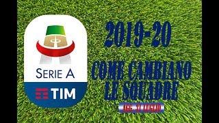 Calciomercato Serie A - Come cambiano le squadre - Classifica Serie A 2019/20 (31 luglio)