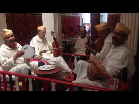 Moroccan Singing And Musical Performance In Tangier Restaurant, Morocco #tangier #morocco