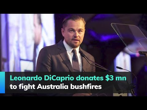 Leonardo DiCaprio Donates $3 Mn To Fight Australia Bushfires
