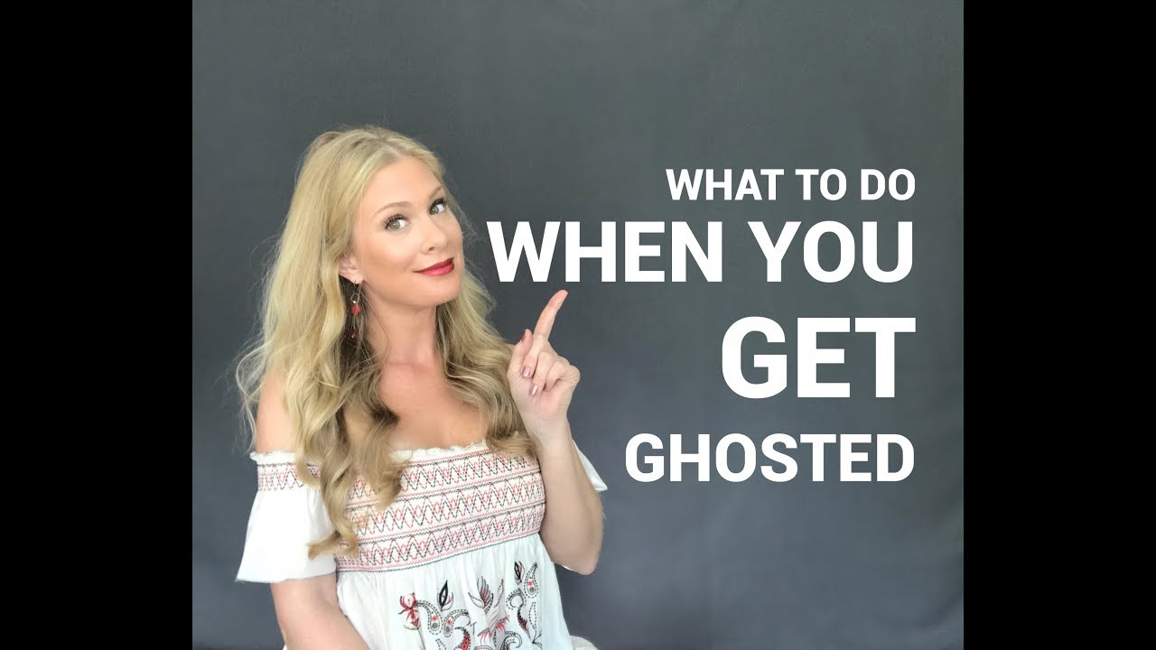 Having Trouble Getting Over Being GHOSTED?
