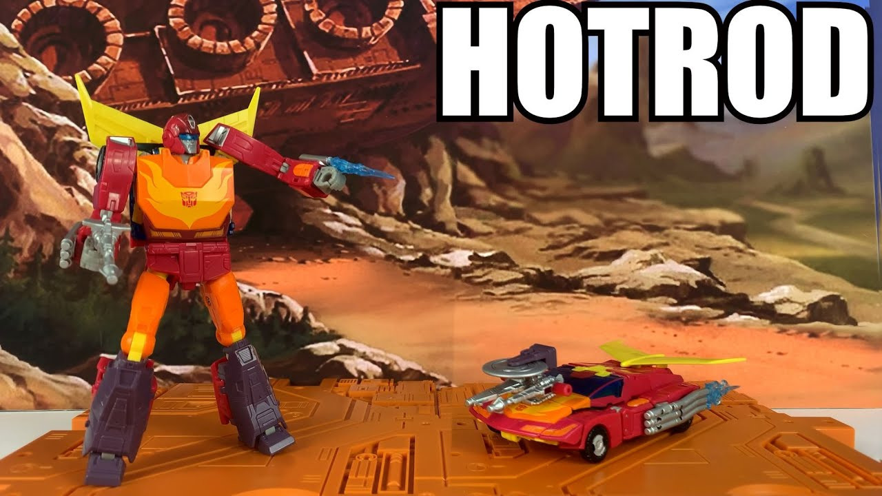 Transformers Studio Series 86 Hotrod Unboxing and Review by Enewtabie