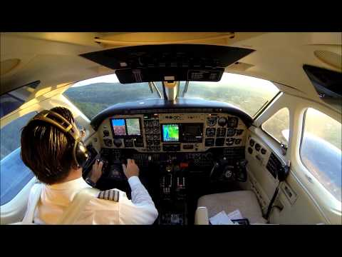King Air B100 - IFR flight to La Guardia KLGA!