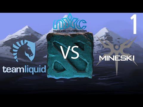 Team Liquid vs Mineski - Game 1 - Nanyang Championship LAN - Merlini & WInter