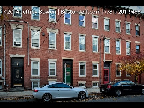 9 Medford St. Chelsea, MA 02150 A quad-level brownstone for rent.