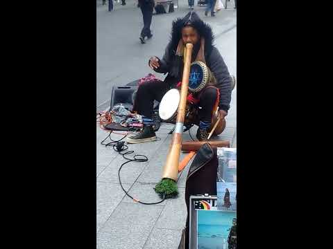Aboriginal Street music in Australia and The Life of Aboriginal people in Australia is still down