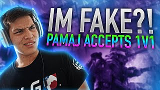 One of OpTic Pamaj's most viewed videos: IM FAKE?! Pamaj Accepts 1v1
