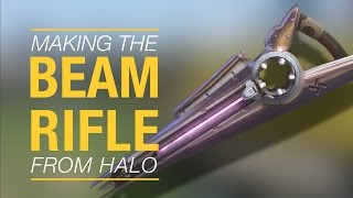 Making Halo's beam rifle WITH JUST AN iPHONE