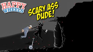 THIS MODAPH#%KA SCARED ME!! [HAPPY WHEELS] [MADNESS!]