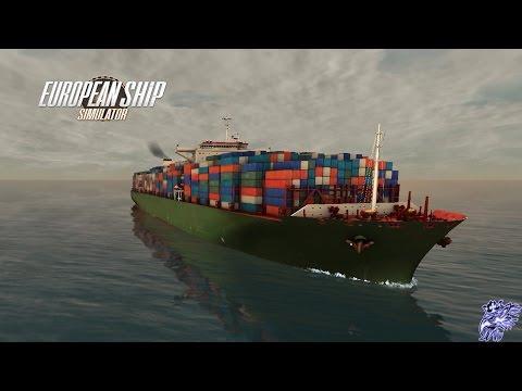 Buque de Carga en el Estrecho de Gibraltar | European Ship Simulator