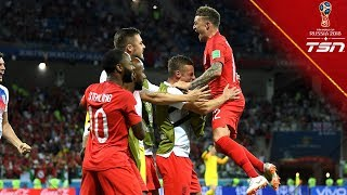 WINNERS IN STOPPAGE TIME! England survives early scare with late goal from Harry Kane
