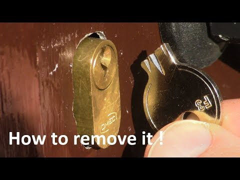 Come rimuovere una CHIAVE SPEZZATA e come aprire una SERRATURA ROTTA-Two ways to remove a BROKEN KEY