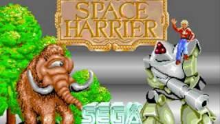 Space Harrier Arcade スペースハリアー.