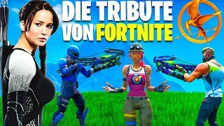 Mit 10 Leuten Roleplay HUNGER GAMES in Fortnite (EMOTIONAL)