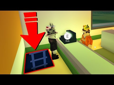 SECRET DOOR in JAILBREAK 1BIL UPDATE  FOUND! (Roblox Jailbreak)