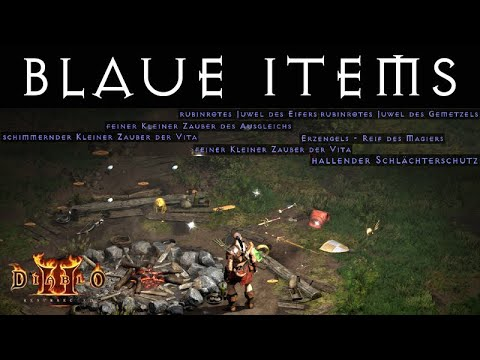 Download D2R Wertvolle blaue Items - Starke magische Gegenstände!