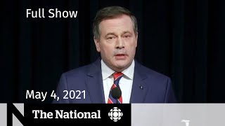 CBC News: The National | Alberta's new restrictions; Vaccine reassurance | May 4