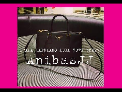 Prada SAFFIANO bn2274 saffiano luxe tote strap