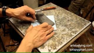 Лепка стопы - Обучение скульптуре. Фигура