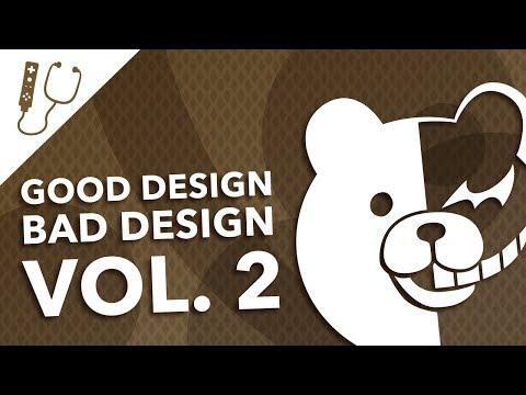 Good Design, Bad Design Vol. 2 - Great & Terrible Video Game Graphic Design Examples ~ Design Doc