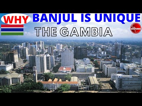 Discover BANJUL. Changing Face of Gambia's Capital City. How Banjul Help End The Dirty Trade In 1807