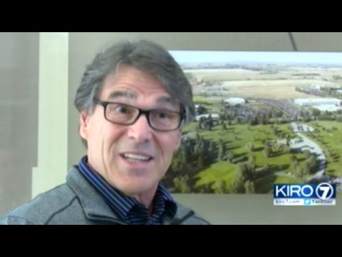 Energy Secretary Rick Perry Addresses Nuclear Accident At Hanford Nuclear Waste Storage Facility