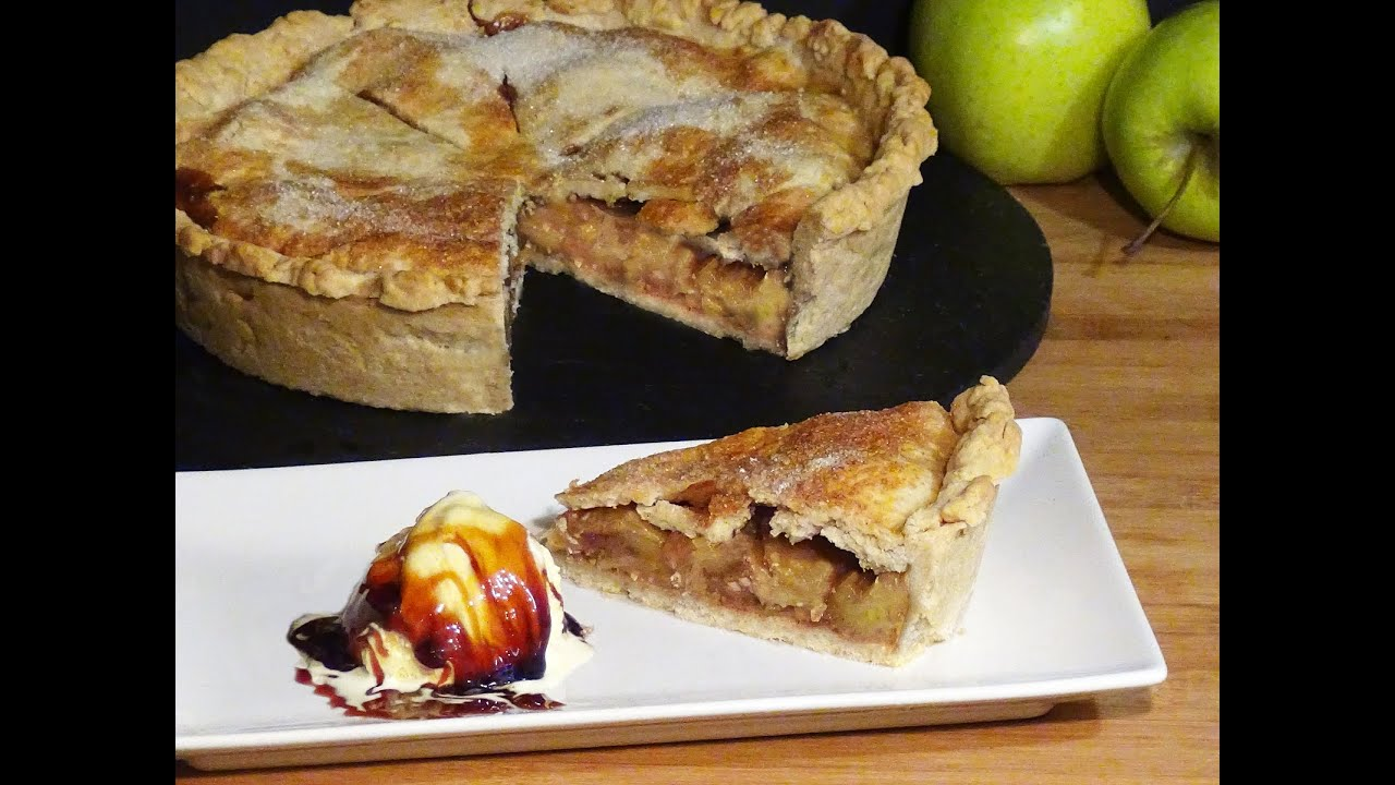 Receta Apple Pie (Tarta de manzana Americana) - Recetas de cocina, paso a paso, tutorial