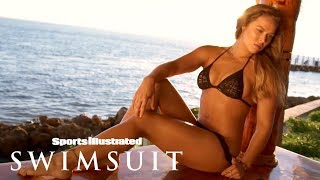 Ronda Rousey Strips Down Behind The Scenes Of Her 1st SIS Photoshoot | Sports Illustrated Swimsuit