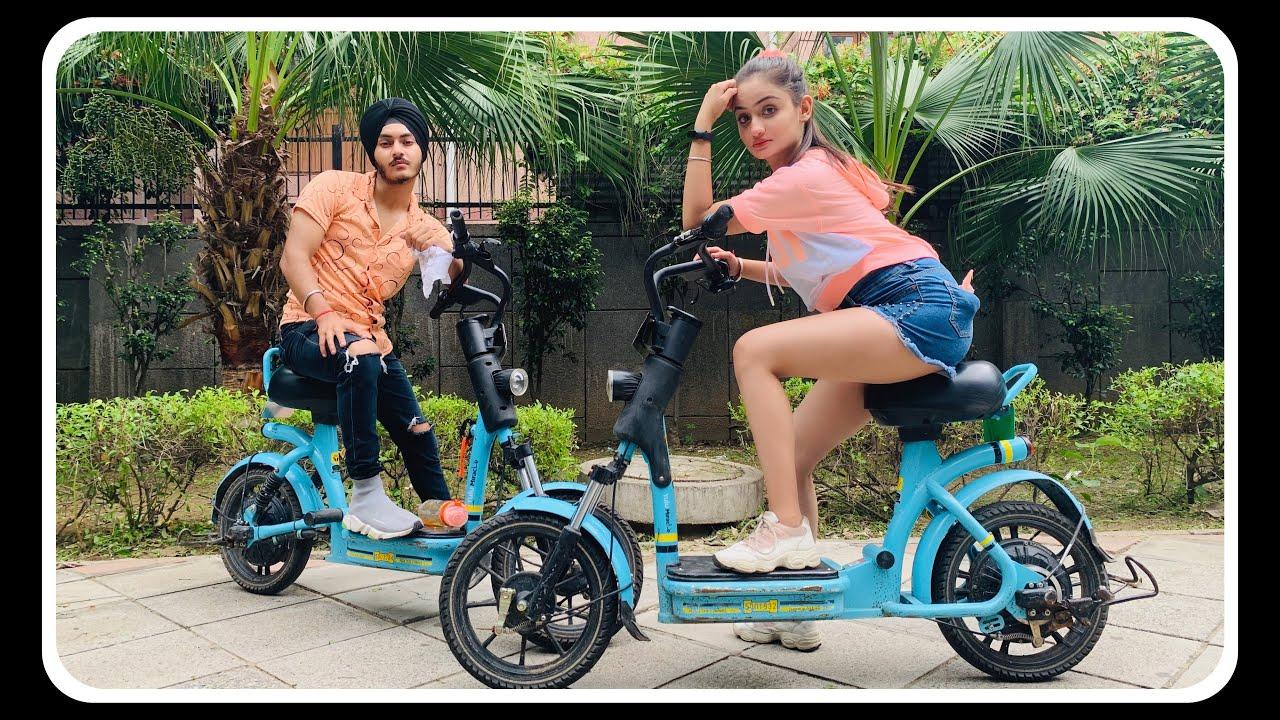 Download Happy YuLu Day 🛴🥰   Ride without helmet   Couple Challenge   Prabh ❤️ Rashu