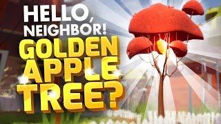 Golden Apple Tree?   Hello Neighbor Alpha 4 Secrets   Hunting For Secrets In Hello Neighbour Alpha 4