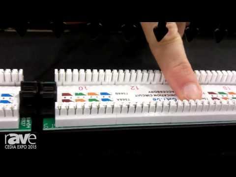 CEDIA 2015: Platinum Tools Features 24 Port Cat5e Non-Shielded Patch Panel