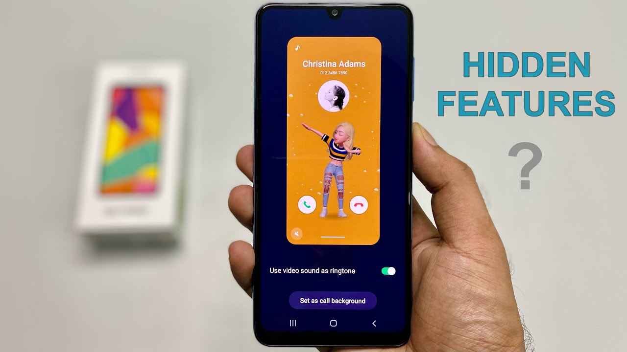 Samsung F22 Hidden Features Review | Surprising!