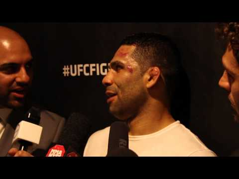 Post-Fight Interview with Claudio Henrique da Silva at UFC Fight Night London