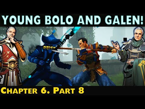 Shadow Fight 3. Beating Snatcher and Stranger. HARD Battle as Young Bolo   Chapter 6 Part 8.