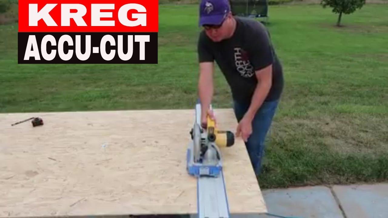 KREG ACCU-CUT CIRCULAR SAW GUIDE - TOOL REVIEW TUESDAY ...