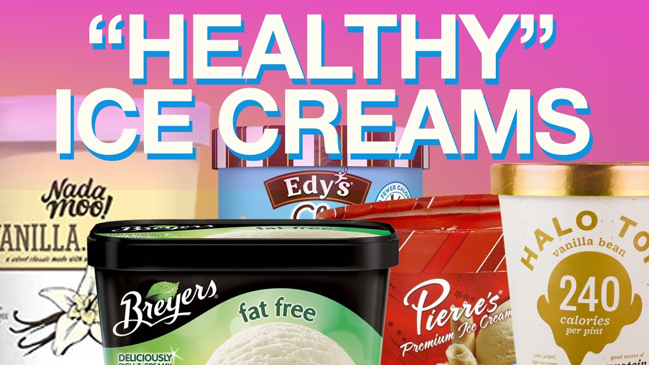 Healthy Ice Creams: Can You Tell The Difference?