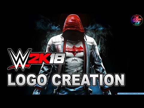 WWE 2K18 How to make Red hood symbol.