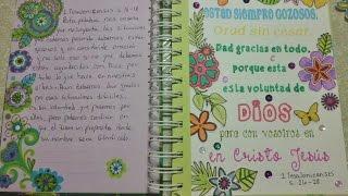 Diario Bíblico # 1 y # 2