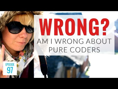 WRONG About Pure Coders and The Future of Web Development?