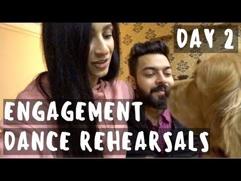 DELHI VLOGS | ENGAGEMENT DANCE REHEARSALS | THE LIFE OF B