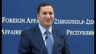 ՀՀ ԱԳՆ մամուլի խոսնակի ճեպազրույցը