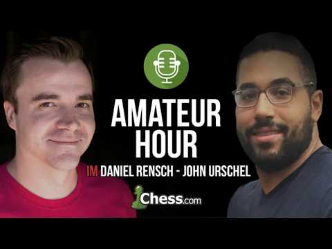 Amateur Hour with John Urschel Live Show Replay: July 4th 2017