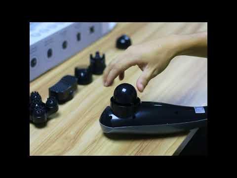 Suntue Cordless handheld percussion massager on amazon