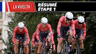 Résumé - Étape 1 - La Vuelta 2017