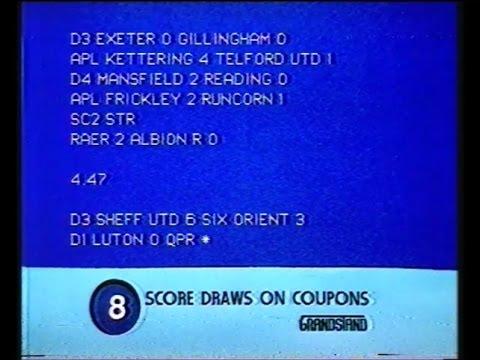 BBC1 - Grandstand - 1984