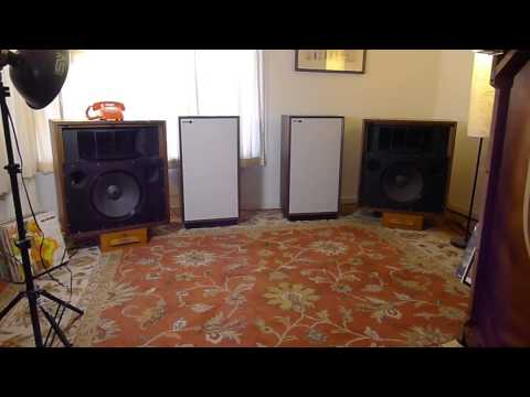 Altec Valencia 846B Completed Restoration Sound Audition