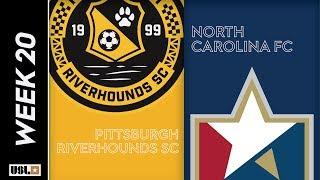 Pittsburgh Riverhounds SC vs. North Carolina FC: July 20th, 2019